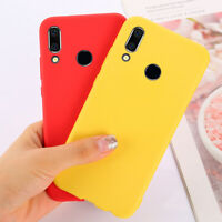 For Huawie Y5 Y6 Prime Y7 Pro Y9 2019 Matte Soft Slim Rubber TPU Back Case Cover