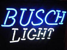 """New Busch Beer Light Neon Light Sign 17""""x14"""""""