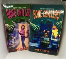 Betsy Haynes Bone Chillers Little Pet Shop of Horrors Back to School Paper Books