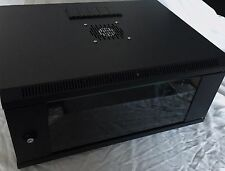 4U IT wall Mount Locking Data Cabinet 19 inch 4u rack inside
