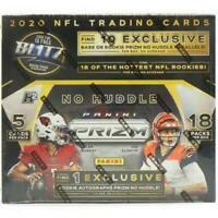 2020 Panini Prizm Football No Huddle Hobby Box Break Random Team