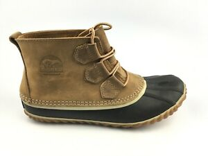 SOREL WOMEN'S OUT N ABOUT LEATHER BOOT - ELK Sz 8 US