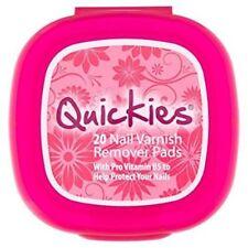 Quickies Nail Varnish Remover 20 Pads