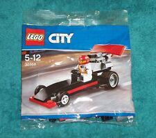LEGO CITY : Dragster Polybag Set 30358 BNSIP