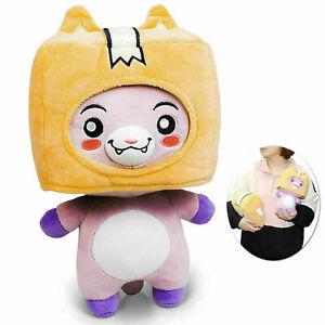 Plush Stuffed Toy Kid Soft Game Figure New Plushie Doll Lankybox BOXY/FOXY/ROCKY