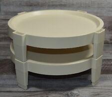 Vintage Pair Tupperware Divide A Rack    Tupperware Pie Stackers