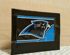 CAROLINA PANTHERS FOOTBALL BLACK DUCK TAPE / DUCKTAPE BiFold Wallet - YOUTH KIDS