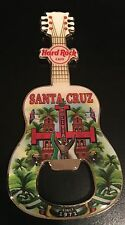 HARD ROCK CAFE SANTA CRUZ BOLIVIA BOTTLE OPENER MAGNET GUITAR