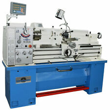 """Pm1440Gs Gunsmith Metal Lathe, 2"""" Spindle Bore 2Axis Dro, Quick Change Tool Post"""