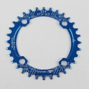 MTB Single Narrow Wide Oval Chainring Chain Ring BCD 104mm 32 34 36 38 40 42T US