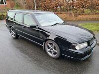 1998 Volvo V70R AWD Auto Black - iconic classic car 850 T5 T5R Modified Track et