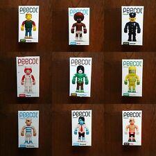 9 PCS Peecol X Eboy X KIDROBOT Designer Toys chaque