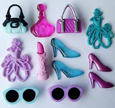 Let's shop-BORSETTA SHOPPING BAG Rossetto Scarpe Ragazza dress It Up Bottoni Craft