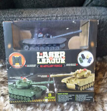 Laser League RC Artillery Vehicle Tank w/ Controller - New in Box