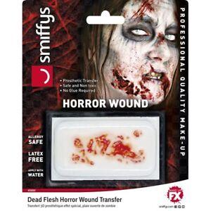Horror Wound Transfer Dead Flesh horror Special FX Halloween Make Up