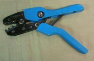 "Used WESTWARD 13H877 9"" Manual Ratchet Crimper 20 to 10 AWG"
