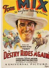 16mm Film ~ Destry Rides Again ~ Tom Mix ~ B Western Movie ~1932
