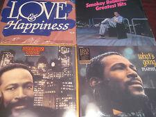 MARVIN GAYE WHAT'S GOIN ON 180 GRAM +-MIDNIGHT LOVE  3 LP SET 16 GAYE HITS+BONUS
