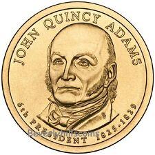 2008 John Quincy Adams President Dollar Philadelphia Denver 2 Coins