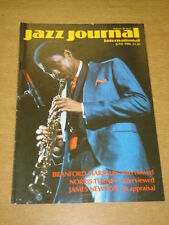 JAZZ JOURNAL INTERNATIONAL VOL 39 #6 1986 JUNE BRANFORD MARSALIS NORRIS TURNEY