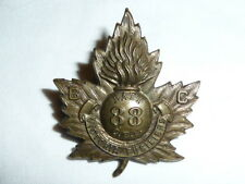 Canada - WW1 - 88th Bn CEF - Cap Badge - Victoria Fusiliers