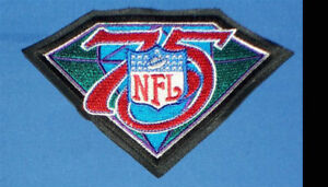 Mitchell and Ness Replica (high quality 2003) NFL 75th Anniversary Jersey Patch