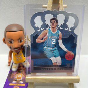 Rookie RC LaMelo Ball 2020-21 Panini Crown Royale Basketball Hornets Card #79