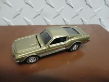 Loose Johnny Lightning Gold 1968 Shelby Mustang w/Real Riders