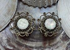 Piercing Bauchnabelstecker Perle Titan Pearlbell Bauchnabelbanane mit synt