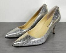 Ivanka Trump 'Boni' Pointy Toe Pump, Metallic Silver, Womens Size 5.5