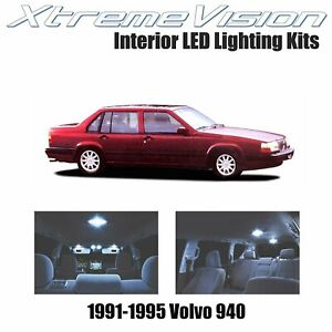 XtremeVision Interior LED for Volvo 940 1991-1995 (10 PCS) Cool White