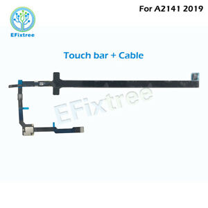 """Laptop A2141 Touch bar For Macbook Pro Retina 16"""" Late 2019 Touchbar w/ Cable"""