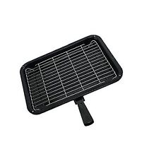 Kga-Supplies Small Single Detachable Handled Enamelled Grill Pan for
