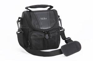 Lightweight Camera Shoulder Case Bag For Panasonic LUMIX DMC FZ2000 FZ72