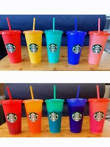 Starbucks Colour-Changing Cold Cups