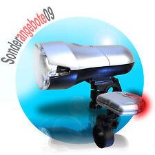 LED Fahrrad Licht Fahrrad Beleuchtung Rücklicht Vorderlicht Lampe Set StVZO