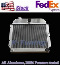 FULL ALUMINUM RADIATOR FIT 1948 49 1950 PLYMOUTH DELUXE BASE/SAVOY CONCORD