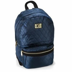 Cookies SF V3 Quilted Nylon Smell Proof Odor Proof Backpack - Navy