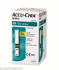 Accu-Chek Active Test Strips expire 06/2021 (50/100/200/300) New Sealed by Roche