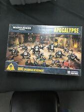 Warhammer 40k Apocalypse Orks Spearhead Detachment (NIB)