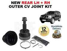 FOR NISSAN PATHFINDER 2.5DT 3.0DT 4.0 NEW REAR LH + RH OUTER CV JOINT KIT