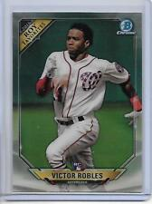 2018 Bowman Victor Robles Chrome ROY Favorites Insert Card