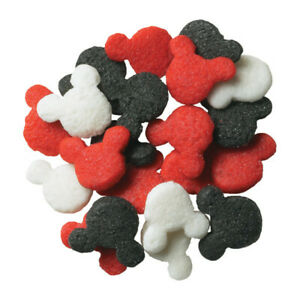 NEW MICKEY MOUSE QUINS SPRINKLES MIX  50G OR 100G BAG (1)