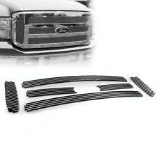 2005-07 FORD F250 F350 SUPER DUTY EXCURSION TOP BILLET GRILLE GRILL INSERT 6PCS