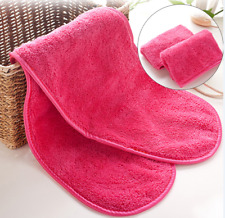 Face Cleansing Towel Makeup Remover Facial Cloth Eraser Microfiber Tool Wipe