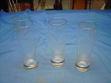THREE SLEEMAN BREWING 16 ounce Beer Glasses