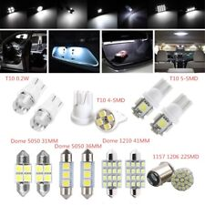 14PCS Car Interior LED White Light 12V For Dome License Plate Lamp Accessories