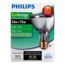 Philips 419549 Halogen PAR30L 75 Watt Equivalent 25 Degree Flood Light Bulb