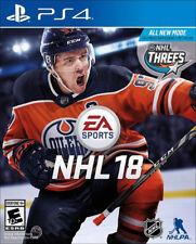 NHL 18 PS4 [Factory Refurbished]