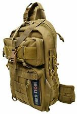 Explorer Tactical Molle Shoulder Sling Bag Concealed Carry Chest Police Military